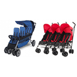 Doubles & Triples Strollers