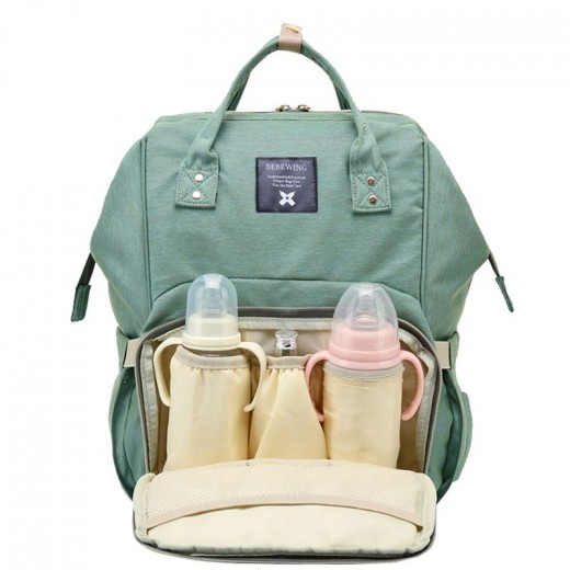 Fashion Mummy Maternity Nappy Backpack Bag Large Capacity Mom Baby Multifunction Outdoor Travel Diaper Bags For Baby Care