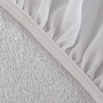 160X200cm Cotton Terry Waterproof Luxury Mattress Protector Hypoallergenic Mattress Cover Breathable Mattress Pad For Bed Bug