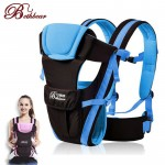 Updated 0-30 Months Multifunction Front Facing Baby Carrier Infant  Sling Backpack Pouch Wrap Baby Kangaroo With Waist Belt