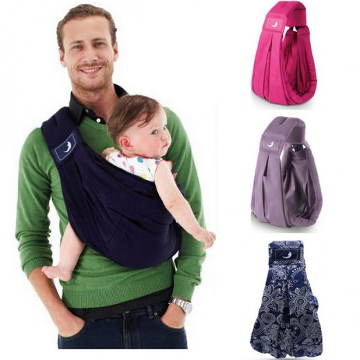 Most Popular BabaSling Baby Carrier/Baby Sling/Baby Backpack Carrier/ Organic Cotton + Sponge Baby Suspenders