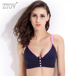 ZTOV Breast Feeding cotton  Maternity bras prevent sagging for women soutien gorge allaitement Nursing Bras pregnant underwear