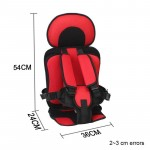 1-12 Years Old Child Car Seat Portable Baby Car Seats For Travel 9-36kg Thickening Sponge Kids Car Seats Siege Auto Enfant