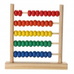Baby Toy Wooden Abacus Colorful Small Numbers Counting Calculating Beads Kids Math Learning Early Educational Toy