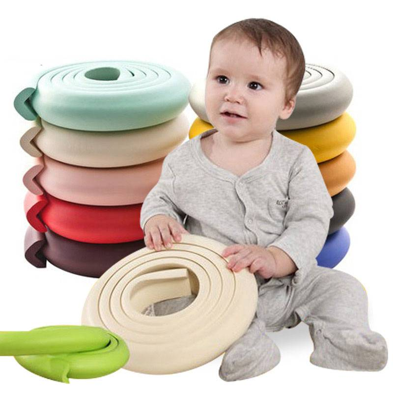 5m - Beige Baby Proofing Safety Corner Guards and Protective Edge Strip Edge