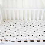 Naheber Cotton Print Baby Crib Fitted Sheet Super Soft Newborn Infant Cot Sheets Baby Bed Mattress Cover Bed Linen Protecter