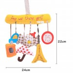 Owl Baby Music Hanging Bed Safety Seat Plush Toy Hand Bell Multifunctional Plush Toy Stroller Baby Toys Rattles Mobile