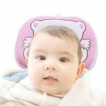 1 Pc  Newborns Infant Soft Neck Support Print Bear Head Shape Baby Therapy Shaping Pillow