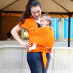 Hot Selling Baby Sling  Stretchy Wrap Carrier, Solid Color Elastic adjustable Cotton HipseatBackpack for Newborn Baby Wrap