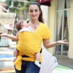Comfortable Fashion Infant Sling Soft Natural Wrap Carrier Baby Backpack 0-3 Yrs Breathable Cotton Hipseat Nursing Cover