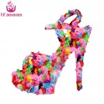 10 Pair Fashion Colorful Accessories Shoes Heels Sandals For Barbie Clothes Dress Doll Best Gift Girl Baby Toys