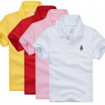 Kids Boys Polo Shirt Baby Boy Girl Clothes Summer Short Sleeve Cotton Solid White Red Yellow Tshirt