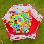 Baby Playpen 1m 1.2m 1.5m Safety Playpens Tents with Basketry Kids Play Tent Baby Mesh Indoor Stress Ocean Ball Pool Play Yard