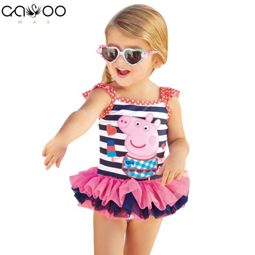 New Cute baby girl swimwear one piece Kids girls swimsuit kid swimming Suit  Swim Wear Children  Girl Bikini  Swimsuit