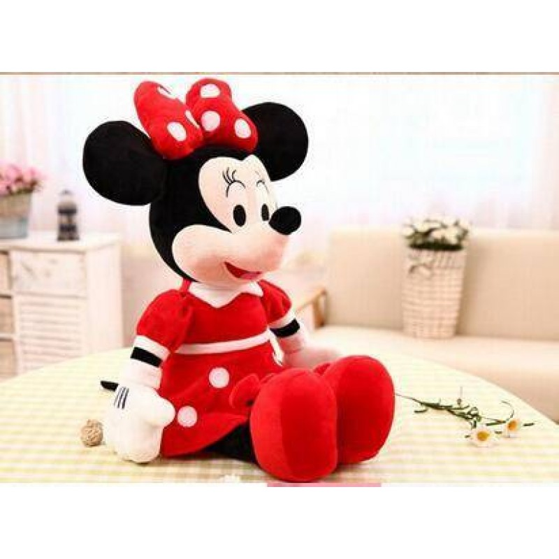 3f9e43869ad ... 1Pcs 40cm Lovely Mickey Mouse And Minnie Mouse Stuffed Soft Plush Toys  Gifts for children ...