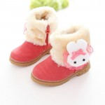 new winter children boots baby shoes girls warm shoes 3 colors 21-30