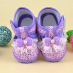 Baby Girl Shoes Summer Princess First Walker Bowknot Boots Soft Crib Cloth Shoes Cute Casual Baby Booties for Girls