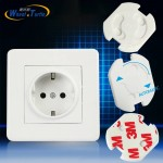 10pcs EU Stand Power Socket Cover Electrical Outlet Baby Child Safety Guard  Electric Shock Proof Plugs Protector Rotate Cover