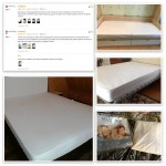 160x200cm Anti-mite Bed Mattress Protection Pad Smooth Waterproof Mattress Protector Cover for Bed Wet Breathable Hypoallergenic