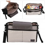 2 Colors Diaper Bag Baby Milk Bottle Insulation Bags Mummy Storage Bag for Baby Stuff Collection Stroller Accessories Baby Care