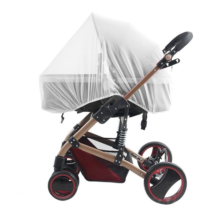 Summer Full Cover Mosquito Net Pushchair Mesh Baby Stroller Netting Accessories