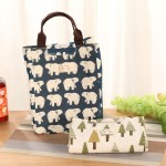 Baby Milk Bottle Insulation Mummy Bags Waterproof Canvas Portable Lunch Bag More Hot Food Mom Organizer Stroller Care