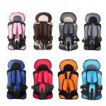 8 Colors Portable Child Car Safety Seats Baby Kids Chairs In Car Babies Updated Version Adjustable Safety Toddler Booster Seat