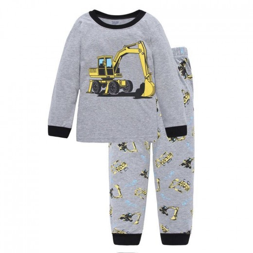 Boys Long Sleeve Pajamas Cotton Cartoon Children Pyjamas Clothing Sets Kids Pijamas Toddler Clothes Suits Baby Girls Sleepwear