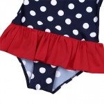Infant Baby Girls Swimsuit Kids Bikini Swimwear Polka Dot Toddler 1PCS Beach Wear Girls Bathing Suit Baby Summer Swimwear