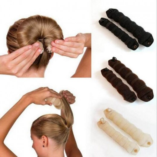 Buy 2Pcs Practical Hair Tools Flower Buds Hair Styling Tools Curling ...