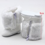 18 inch 45CM American Girls Dolls Fur Snow Boots shoes for Alexander doll accessory baby born doll girl gift
