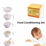 7 Pcs/Set ABS Material Baby Food Grinder Masher Time-limited Baby Food Dish Mills Tools Fruit Prato Infantil De Cocina