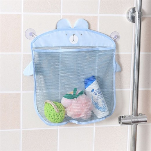 Buy Fashion Baby Bath Toy Mesh Storage Bag Bathtub Doll Basket ...