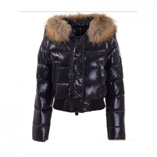 55f8906d6 Winter Thicker Coats for Pregnant Women 80% White Duck Down Jackets Short  with Fur Collar Hooded Girls Clothes Black