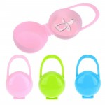 2Pcs Baby Soother Container Holder Pacifier Dummy Box Travel Storage Case Gift Safe Pacifier Holder PP Plastic Box