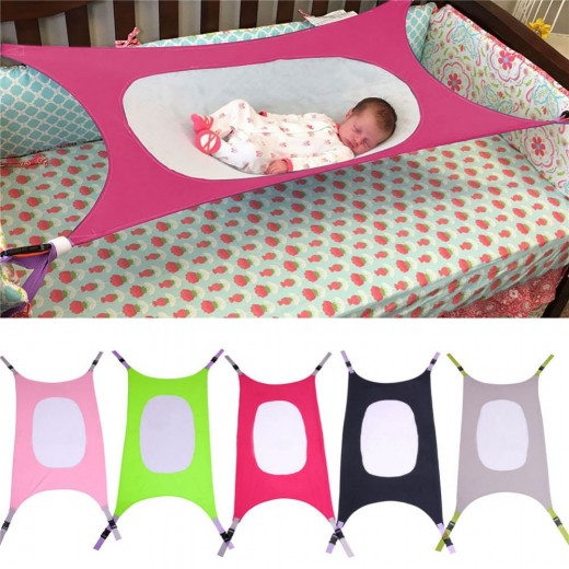 Baby Safety Hammock Swing Infant Bed Sleeping Bed Detachable Portable Folding Baby Bouncer Infant Crib for Newborn Gift