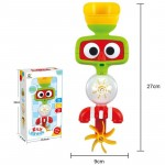 Hot Multicolor Fun Baby Bath Toys Automatic Spout Play Taps/buttressed Folding Spray Showers Toy Faucet Play with Water
