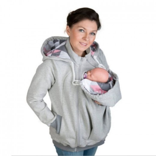d295023b321a Multifunctional Baby Carrier Cover Jacket Kangaroo Maternity Hoodies  Sweatshirts Women Clothes For Pregnant Maternity Outerwear