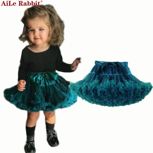 Baby Girls Tutu Skirt Fluffy Children Ballet Kids Pettiskirt Baby Girl Skirts Princess Tulle Party Dance Skirts For Girls