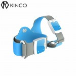 KINCO Kids Bluetooth 4.0 Wireless 24HR Continuous Fever Monitor Smart Medical Thermometer Wristband with Mobile Alerts for Babys