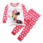 Baby boys girls kids Clothing Sets Cartoon Mouse suits 2 pcs sleepwear long sleeve cartoon pajamas or home wear hot selling