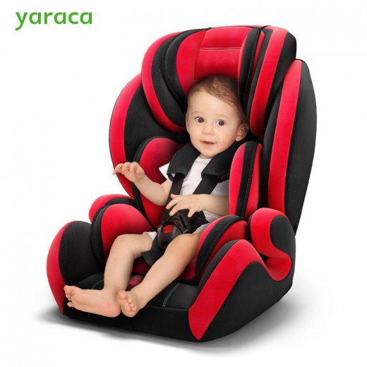 Baby Safty Car Seat Adjustable Car Seat For Kids With Five-point Seat Belt Autos Armchair For Children 9 Month To 12 Years Old