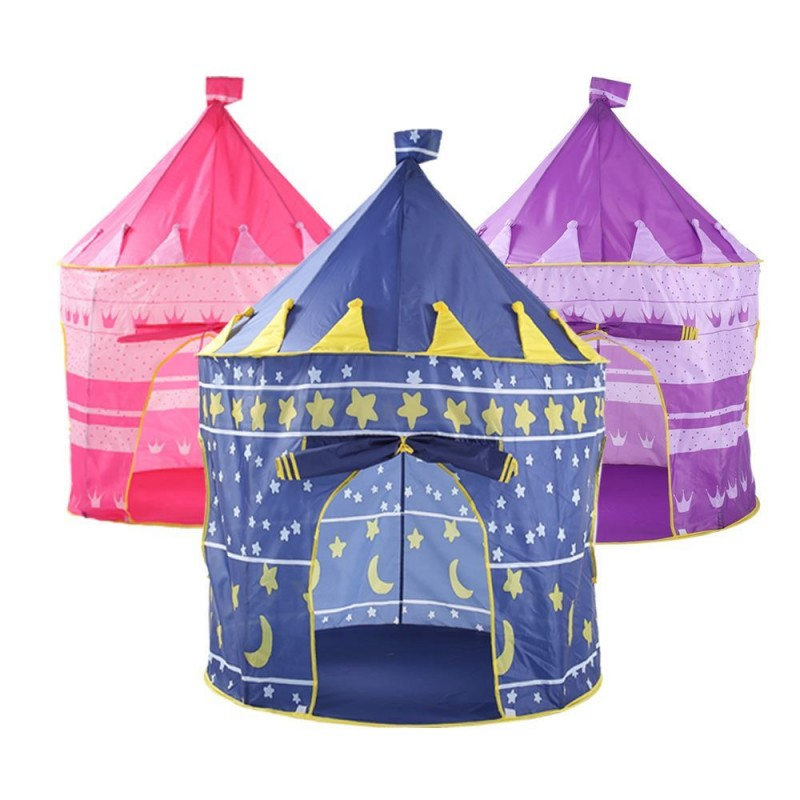 Kids Play Tent Large Princess and Prince House Castle Palace Baby Toy Game Playhouse Tent for Children Gift  sc 1 st  Munior.com & Buy Kids Play Tent Large Princess and Prince House Castle Palace ...