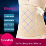 Women slim waist Belt Waist Trainer Slimming Wedding Body Shaper Postpartum Belly Band Pulling Underwear Long Torso Corset