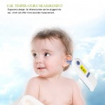 Digital LCD Forehead Ear Forehead Infrared IR Thermometer Non-contact Temperature Intelligent Alarm for Baby and Adult
