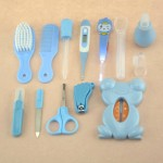 multifunction baby kit kid healthcare baby care kit Baby Grooming Set kit thermometer clipper scissor kid toiletries for babies