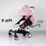 100% Original Lightweight Travel Baby Stroller 175 Degrees Portable Prams Baby Cart Cariage Infant Trolley With Many Gifts
