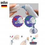 Braun Ear Thermometer Lens Filter Replacement ThermoScan Covers Disposable Thermometers Caps 20 Pcs/Box