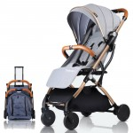 Baby Stroller Plane Lightweight Portable Travelling Pram Children Pushchair